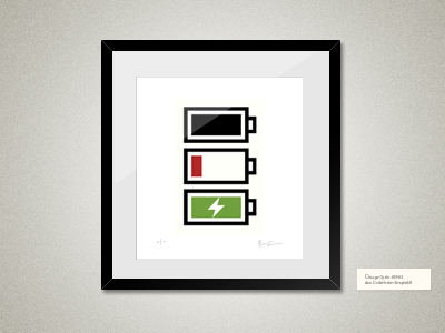 Framed-three-color