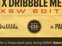 ATX Dribbble Meetup at SXSW