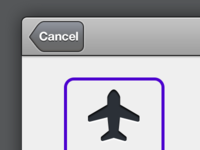 iPad app - Select an Airport