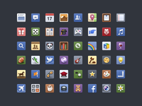 Facebook - Icon Set