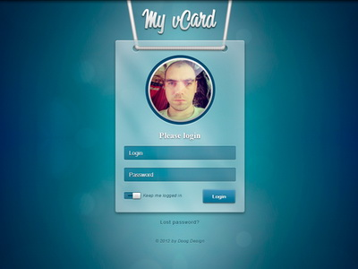 My_vcard_login_page_thumb