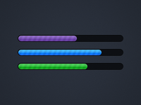 Candy Progress Bars