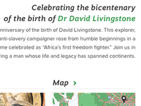 David Livingstone website
