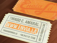 Envia Lá - Business Card