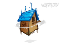Birdhouse - Vector
