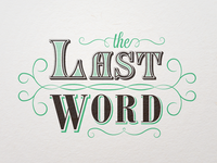 The Last Word Logotype v2