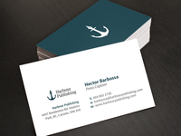 Harbour Publishing Business Cards
