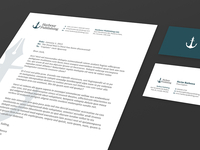 Harbour Publishing Business Card + Letterhead
