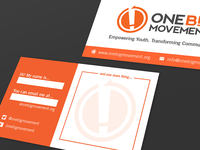 "One Big Movement ""Interactive"" Business Card"