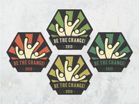 Be The Change! - Colour Combos