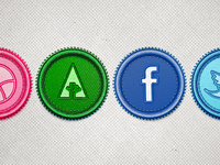 Social Network Badges