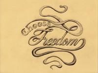 Choose Freedom: Final Sketch