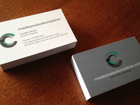 madeyoulookcreative business cards
