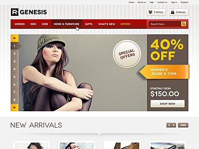 Life Style Modern Online Store Design