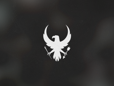 dribbble eagle logo by jord riekwel