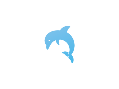 Unused Dolphin Logo