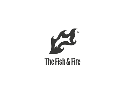 The Fish & Fire Logo