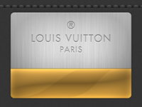 Louis Vuitton Engraving
