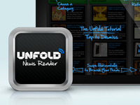 Unfold iPad Icon