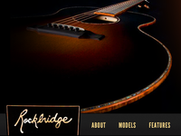 Handcrafted Guitar Website