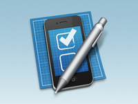 iOS Development Tool Icon