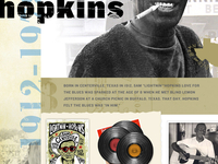 Lightnin Hopkins Homepage