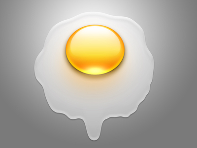 A broken Egg Icon