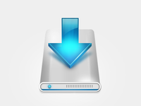 A Simple Download Icon