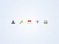 Settings Toolbar Icons 2
