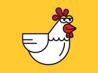 Chicken Dribbble