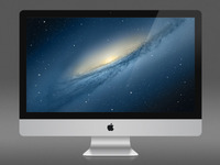 "iMac 27"" - Fully Scalable PSD"