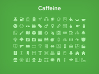 Caffeine Icon Set - 500 Vector icons for sale