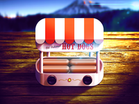 Electrics Old Fashioned Hot Dogs iOS Icon