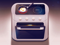 Electric range iOS icon