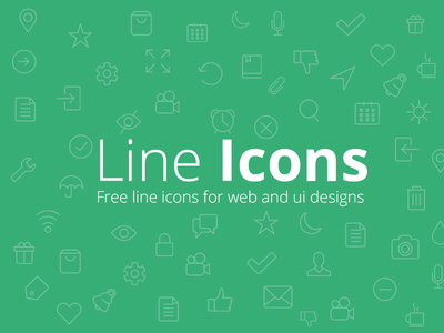 Download Free Line Icons