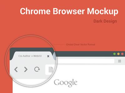 Download Chrome Browser Mockup