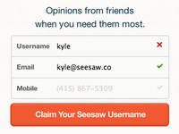 Claim Your Seesaw Username