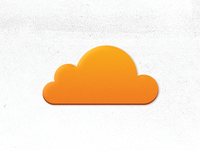 Simplified CloudFlare icon