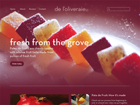 De L'oliveraie Website