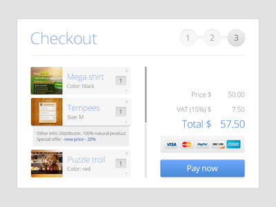 Download Simple Shopping Cart Checkout