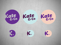Kate & Co logo concept 1