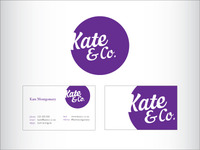 Finalised Kate & Co branding