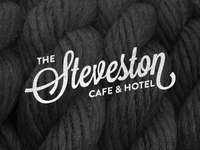 The Steveston - Wordmark