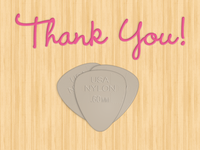 Thank you for the pick!