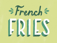 French Fries or Side Salad?