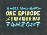 One Episode of Breaking Bad