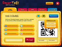 "Interface for ""SmarTags"" project"