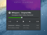 Spotify OSX Minimized