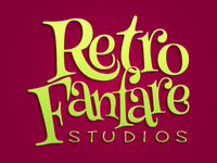 Retro Fanfare text logo