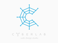 "Logo for web-design studio ""WebCyberLab"""